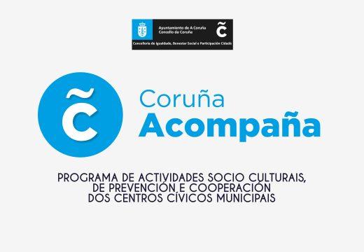 Benestar Social ofrece actividades en liña do programa sociocultural da Rede de Centros Cívicos