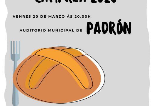O Concello de Padrón busca a mellor empanada de lamprea no Concurso das VI Xornadas Gastronómicas