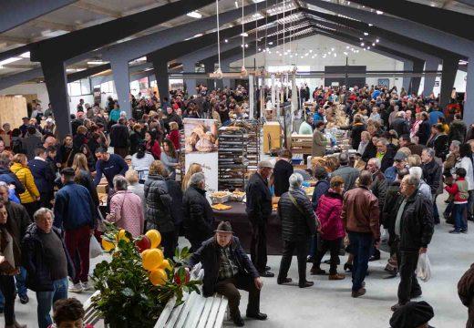44 Expositores participarán na V Feira do Queixo de Moeche do domingo 15 de marzo