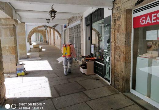 O Concello de Noia intensifica e amplía as tarefas de limpeza e desinfección no municipio