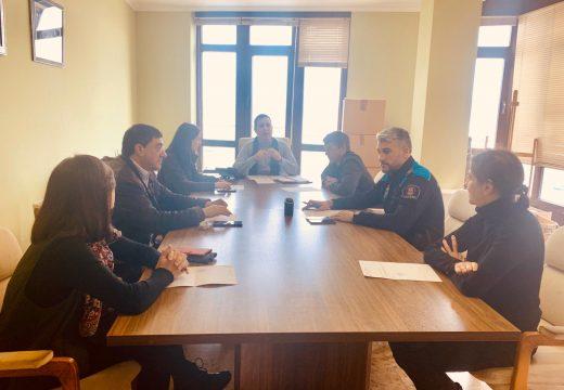 O alcalde de Muxía valora moi positivamente o primeiro día de funcionamento da Comisión de Seguimento do COVID-19