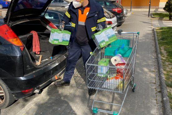 Terceira remesa de material preventivo enviado pola Xunta ao concello de Ribeira