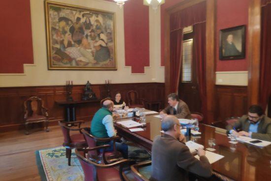 A Comisión de Voceiros acada o máximo consenso nas decisións tomadas no ámbito social