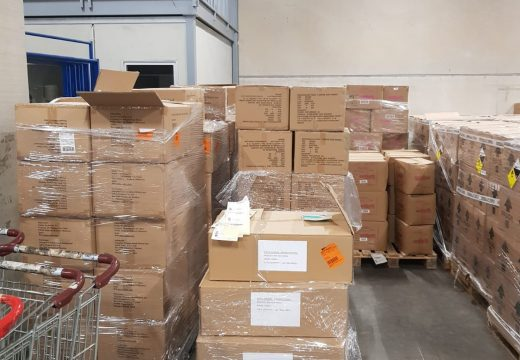 A Xunta enviará á cidade de Ferrol máis de 5.000 mascarillas e 10.000 guantes esta semana
