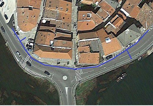 O Concello de Noia renova un tramo de 140 metros da rede municipal de abastecemento de auga na contorna do casco histórico