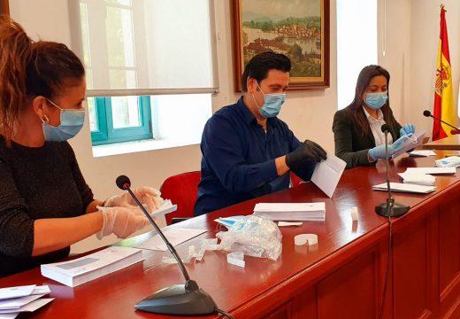 O Concello de Noia entregará 4.200 máscaras de protección aos veciños e veciñas maiores de 65 anos e persoas de risco
