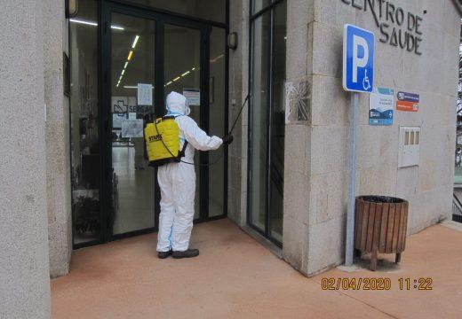 A Xunta realizou 57 actuacións desinfección dos exteriores das residencias de maiores e discapacitados e dos centros de saúde na comarca do Barbanza