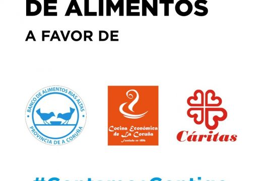 Benestar Social colabora con varias superficies comerciais nunha campaña de doazón de alimentos