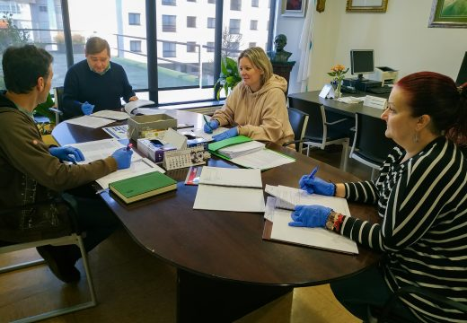 O Concello de Fene analiza a situación do tecido laboral de cara a impulsar medidas económicas que axuden a paliar os efectos da crise sanitaria