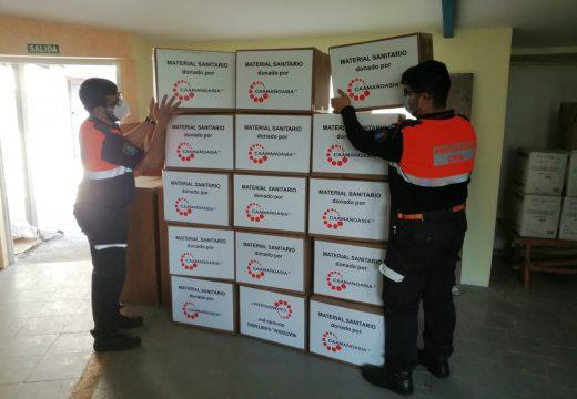 O concello entrégalle ao persoal municipal, de concesionarias e de entidades locais máis de 32.000 máscaras de protección que lle foron doadas