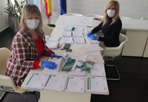O Concello de Fene empezará este venres o reparto das 6.000 máscaras lavables fabricadas pola SOGAPS