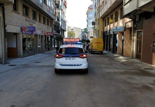 Rexistradas 105 denuncias durante o estado de alarma por vulnerar o confinamento