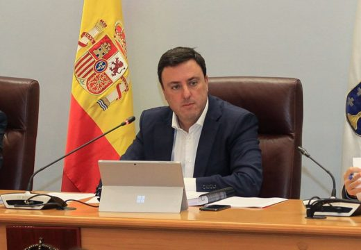 A Deputación da Coruña adianta aos concellos da provincia 38,4 millóns de euros da recadación prevista ata o mes de maio