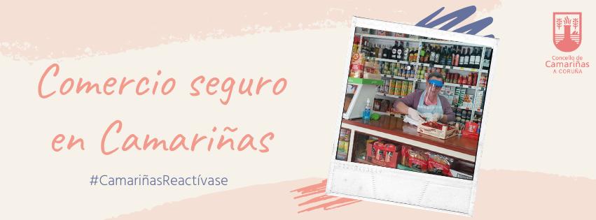 O Concello lanza a campaña 'Comercio Seguro en Camariñas' para fomentar as compras no municipio
