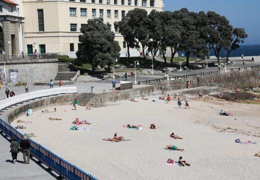 O concello apela á responsabilidade e á colaboración da cidadanía ao visitar as praias da cidade