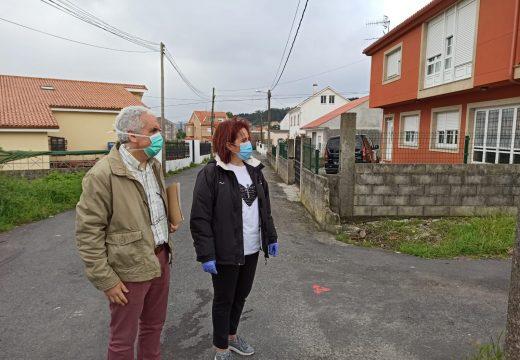 O Concello comeza as obras de reparación e asfaltado da rúa Seara e das súas travesías