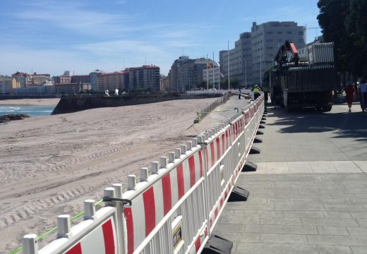 Medio Ambiente e Seguridade Cidadá activarán mañá o protocolo de uso das praias ata a apertura oficial do período estival