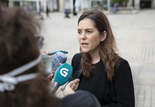 """Inés Rey: """"Agora é máis necesario que nunca falar de axuda, memoria, respecto, solidaridade, lembranza ou homenaxe"""""""
