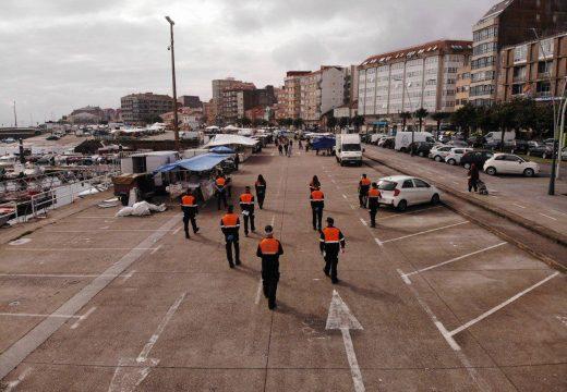 O concello de Ribeira estuda a ubicación definitiva do mercadillo deste sábado, que estará limitado a produtos agroalimentarios