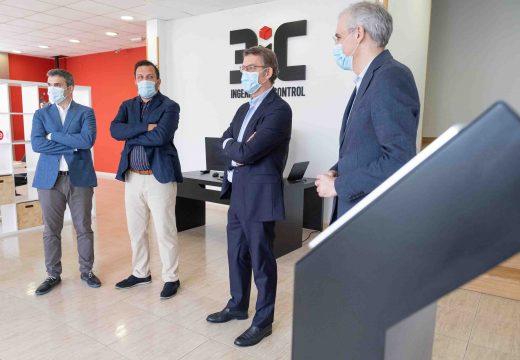 Feijóo destaca a innovación e o desenvolvemento tecnolóxico como elementos clave do tecido empresarial galego para afrontar os novos retos da reactivación económica e social tras a pandemia