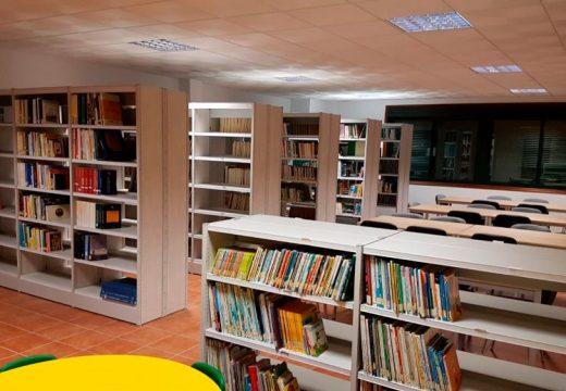 A biblioteca municipal de Frades volve abrir as bsúas portas ao público no seu horario habitual