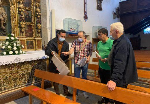 O Concello de Muxía retoma o proxecto de reconstrución do Altar Maior do Santuario da Virxe da Barca en coordinación coa igrexa