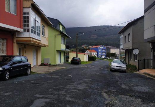 Cariño saca a licitación por 126.000 euros a urbanización da rúa de Ou Cadro na parroquia da Pedra