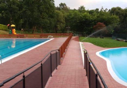 A piscina municipal de Frades abre as súas portas mañá mércores con medidas especiais para control do aforo pola Covid-19