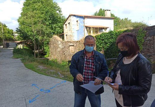 O Concello de Camariñas comeza os traballos de reurbanización das rúas Río do Cura e Sixto, na Ponte do Porto