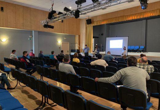 O Concello de Boqueixón e Terras de Compostela imparten un taller sobre medidas hixiénico-sanitarias frente á Covid-19