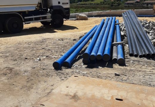 O Concello de Noia informa dun corte no subministro de auga mañá martes por mor das obras da nova fachada marítima