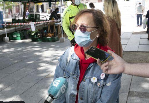 Esther Fontán anuncia que o concello estuda impulsar o comercio de proximidade con un mercado todos os domingos