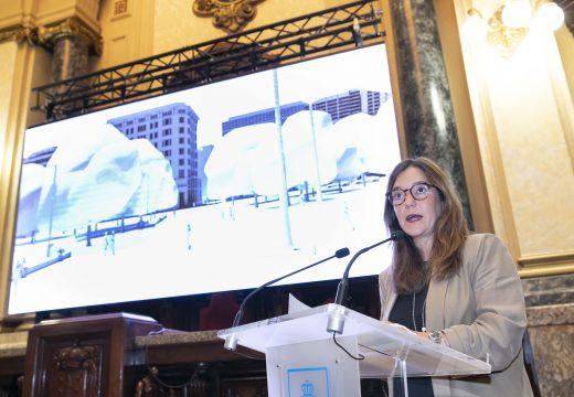 """Inés Rey: """" As persoas teñen que ser as protagonistas dos nosos plans de mobilidade para transformar a cidade"""""""