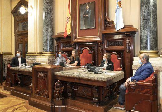 Inés Rey comunica ás asociacións veciñais e de hostalaría as medidas para garantir a seguridade en San Xoán