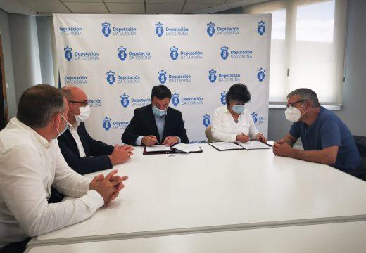 A Deputación da Coruña e o Concello de Moeche asinan este mediodía un convenio de 103.000 euros para a posta en marcha do Centro Comarcal de Apoio Desenvolvemento Rural