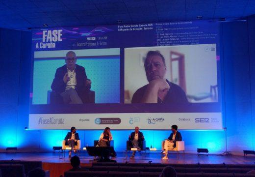 Xosé Regueira aposta pola colaboración dos sectores público e privado na recuperación do turismo
