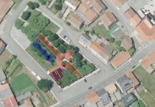 O Concello de Frades saca a licitación a cubrición e ampliación do parque infantil de Ponte Carreira por case 60.000 euros