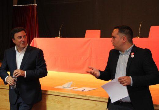 Muxía recibe ao presidente da Deputación nunha xuntanza para artellar a estratexia a seguir nos vindeiros meses