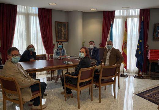 Reunión na Deputación da Coruña