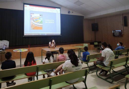O CIM de Boqueixón organizou 'A Ruleta da sorte', un obradoiro de igualdade dirixido a crianzas de entre 8 e 12 anos