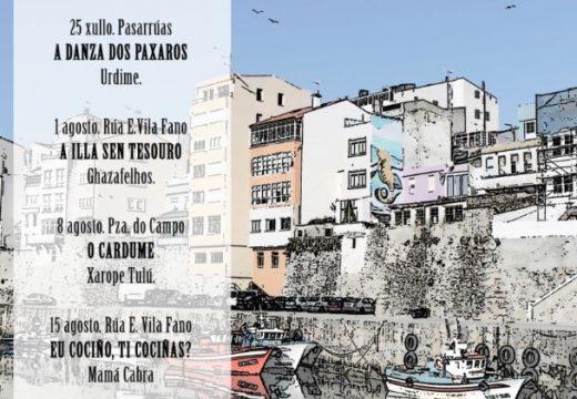 Malpica comeza a planificación cultural de verán cos 'Seráns na Rúa'