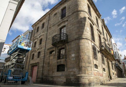"""Inés Rey: """"O Concello traballa na a recuperación da Casa Cornide para o patrimonio dos coruñeses e das coruñesas"""""""