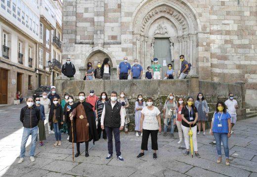 A Coruña súmase ás iniciativas para impulsar o Camiño Inglés como unha ruta segura tras o confinamento