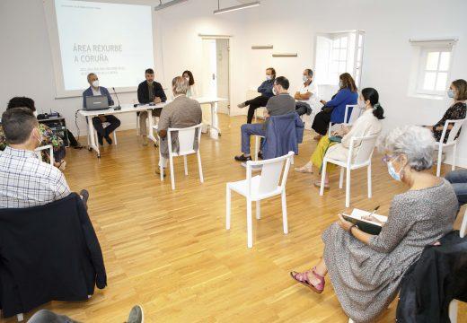 O Concello analiza na Mesa da Cidade Vella os proxectos da Área Rexurbe