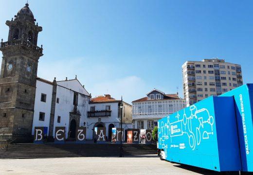 Betanzos acolle a campaña itinerante de concienciación impulsada pola Xunta para promover o turismo seguro