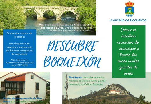 O Concello de Boqueixón inicia un programa de visitas guiadas gratuítas a distintos puntos de interese turístico do municipio