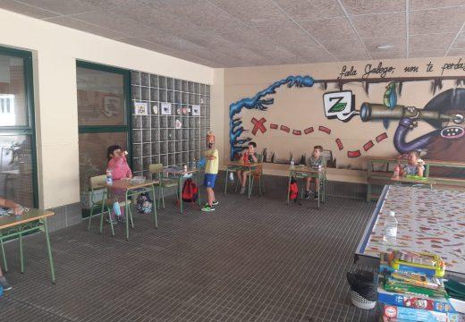 O Lousame Concilia chega ao ecuador da quenda de agosto con manualidades, chapas, cine, cociña e xogos de auga