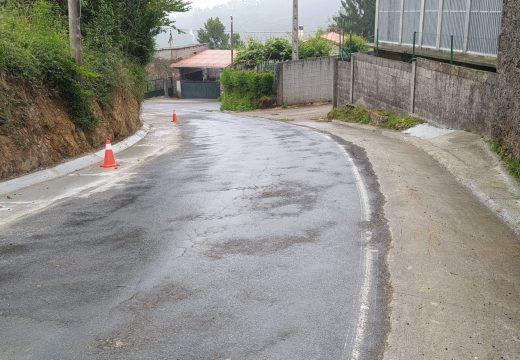 Concello e Deputación axuntaron esforzos para mellorar a seguridade viaria nas parroquias de Paleo, Quembre, Barcia e Cañás