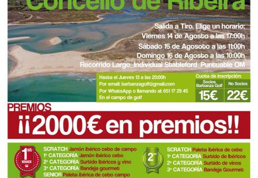 Esta fin de semana, Terceira Edición do Torneo de Golf «Concello de Ribeira» en Macenda