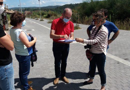 O Concello finaliza as obras de urbanización da rúa Rego do Can, en Costa Miño